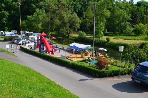 Spielplatz - Camping Südeifel