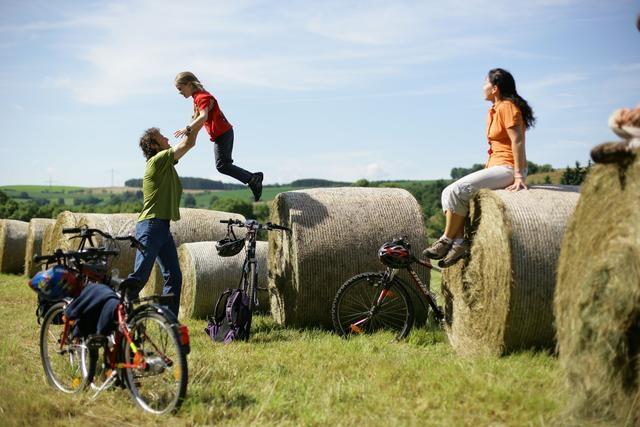 Fahrradfahren in der Eifel