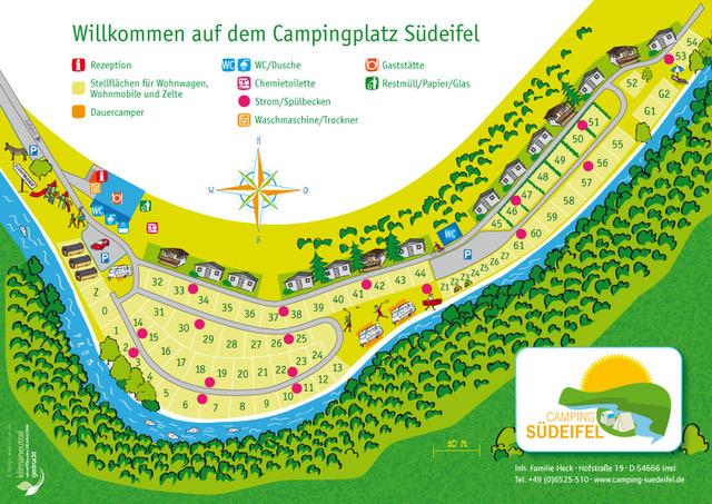 Lageplan - Camping Südeifel